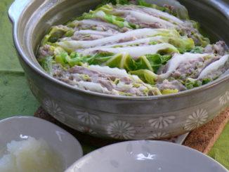 風邪予防の薬膳レシピ 白菜と豚肉のコトコト煮