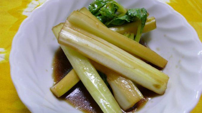 ストレスにおすすめの薬膳レシピ セロリの中華風ポン酢漬け