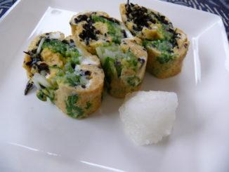 骨粗鬆症におすすめの薬膳レシピ 『ひじきのシャキシャキ卵焼き』
